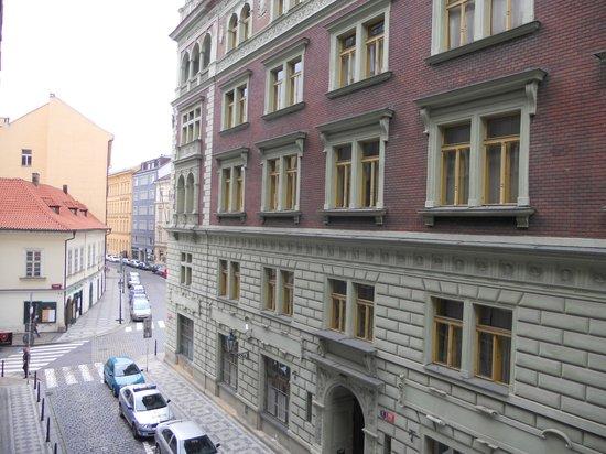 Old Prague Hostel: Aussicht vom Zimmer