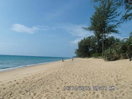 Mai Khao Beach: Calm