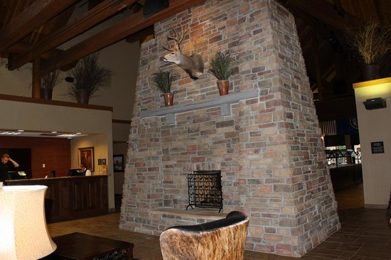 BEST WESTERN PLUS Bryce Canyon Grand Hotel: à la réception