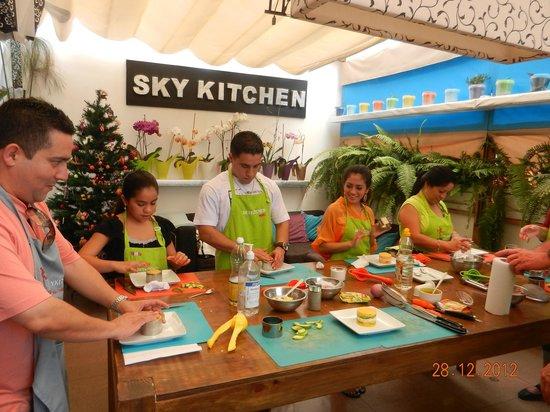 SkyKitchen Peruvian Cooking Class