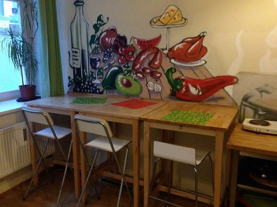 Hostel One Prague : The Pantry