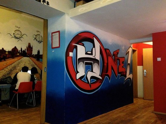Hostel One Prague: The Internet Room