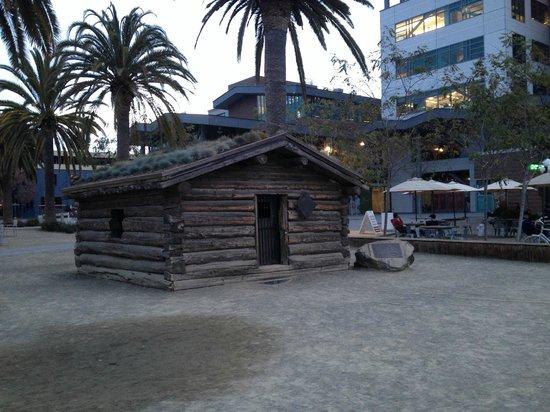 Heinold's First & Last Chance Saloon : Jack London cabin