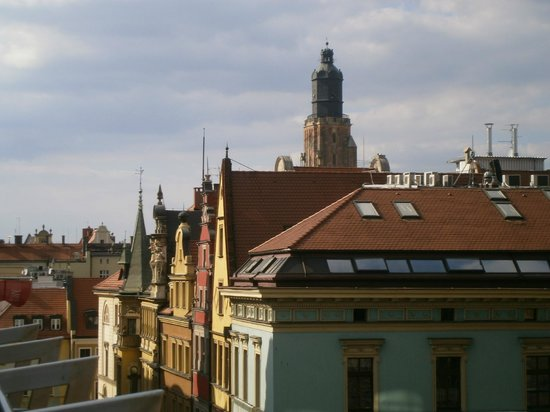 Qubus Hotel Wroclaw: View from hotel room's balcony