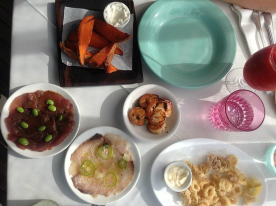 Sheer Rocks: tapas on a weekend
