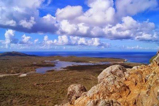 Boca Slagbaai: Uitzicht vanaf Boka Brandaris