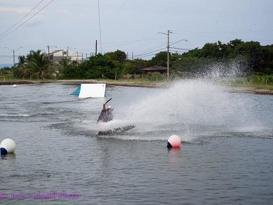 Nitro City Panama Action Sports Resort : The wakeboard area