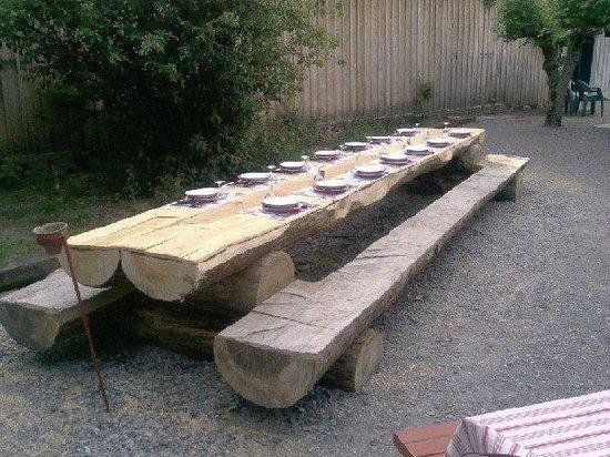 Restaurant Camette : terrasse