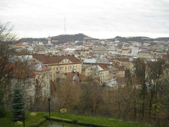 Citadel Inn Hotel & Resort : Вид со стены крепости.
