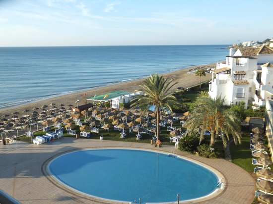 VIK Gran Hotel Costa del Sol : View from our room on the 5th floor