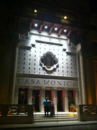 Casa Monica Resort & Spa, Autograph Collection: West entry at night