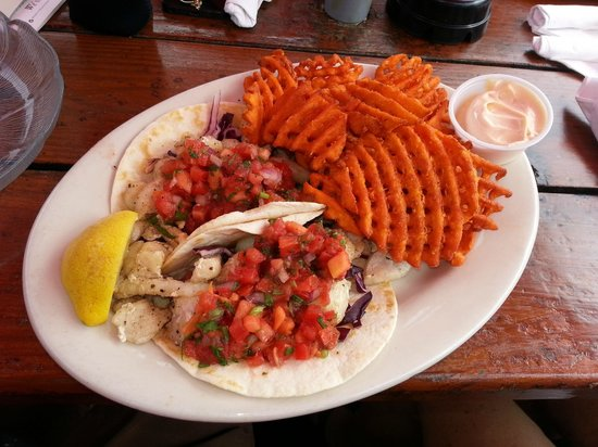 The Beached Whale: Fish Tacos