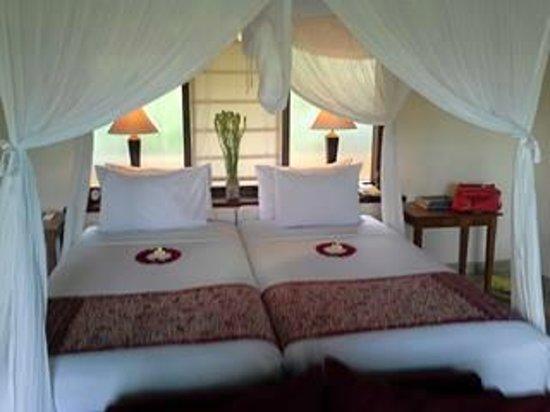 Komaneka at Monkey Forest: Twin beds