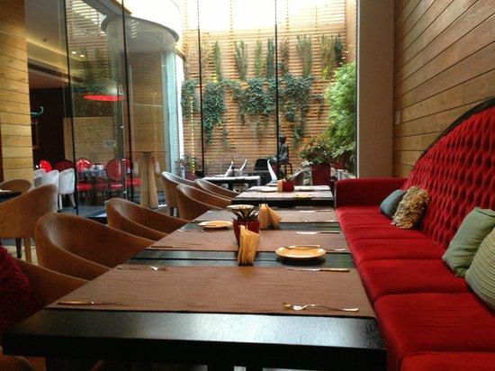 Graffit Gallery Hotel: Frühstücksraum und Restaurant