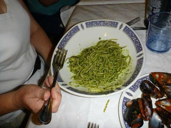 Ristorante Belvedere: Wonderfull pesto, so fresh tasting