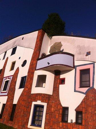 Rogner Bad Blumau : Il balcone della mia suite