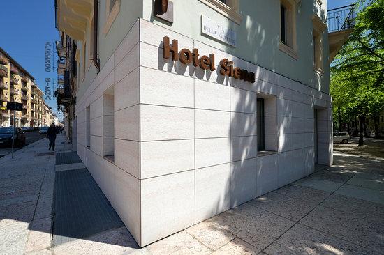 Hotel Siena: Facciata