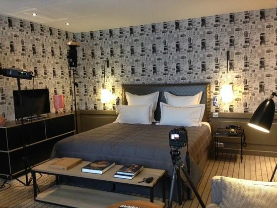 Hotel Signature St Germain des Prés : Prestige room shooting