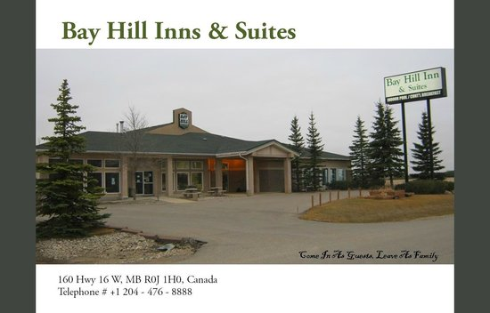 Bay Hill Inns and Suites: Main enterance