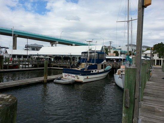 Bonita Bill's Waterfront Cafe: View