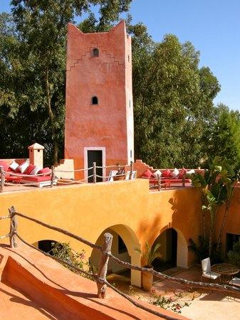Riad Baoussala : Rooftop terrace