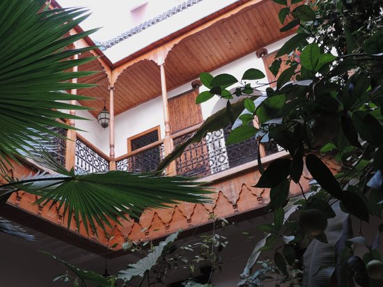 Riad Djebel : du patio