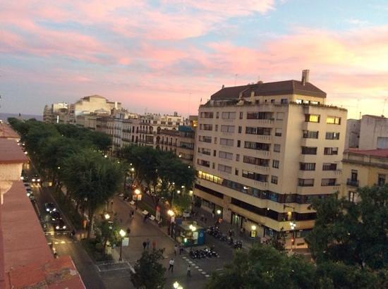 Alexandra Aparthotel : vistas de mi apartamento