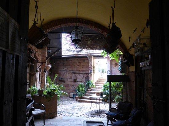Hotel Palacio Guzmanes : Interior del hotel