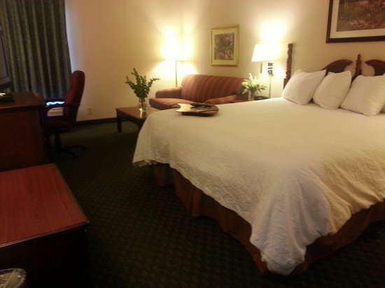Hampton Inn Bellevue / Nashville-I-40-West: Room was spotless. Loved the bed.