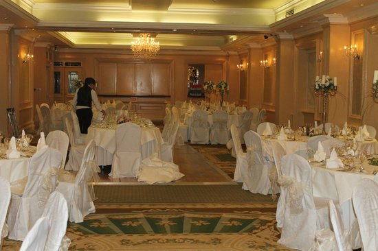 Imperial Hotel : Wedding reception room