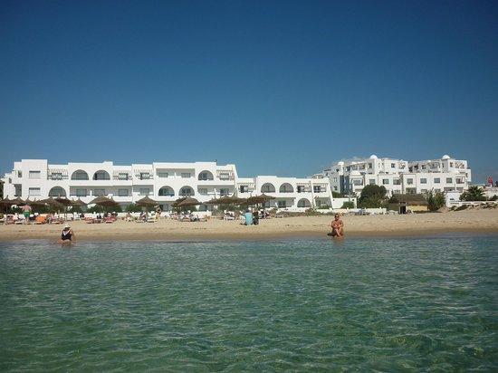 Club Marmara Hammamet Beach: vue de la mer