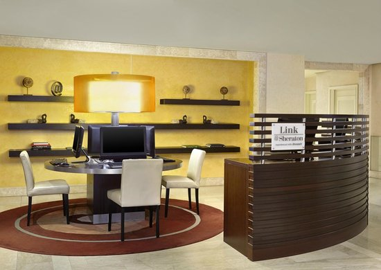 Sheraton Stockholm Hotel: Link@Sheraton