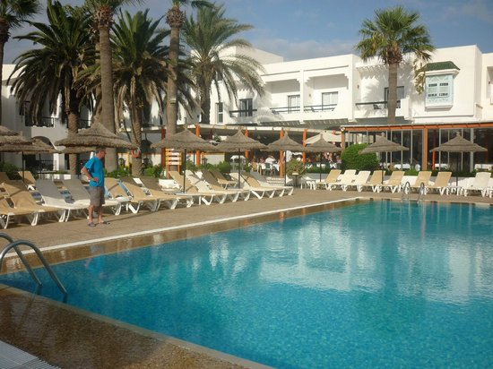 Club Marmara Hammamet Beach : Piscine des animations