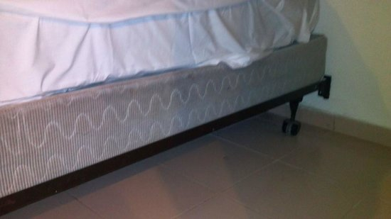 Viva Wyndham Dominicus Beach: Another view of the nasty beds!!