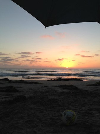 San Elijo State Beach Campground: San Elijo Sunset - 2013