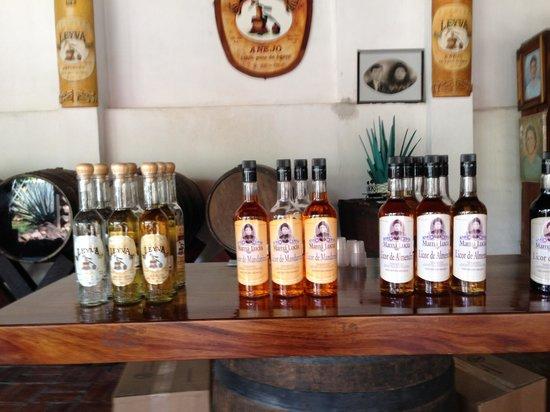 Puerto Vallarta Mama Lucia Tequila Tour: Tequila tasting options