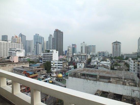 Silom City Hotel: vista desde hotel