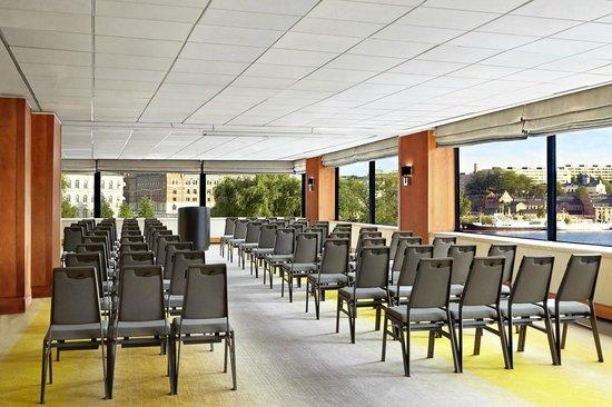 Sheraton Stockholm Hotel: Haga room, theatre setup