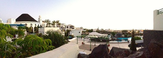 Hotel THe Volcan Lanzarote: Balcony view from room 311