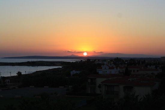 Anmaria Beach Hotel: Вид из окна номера