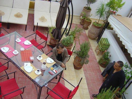 Riad El Arsat: petit-déjeuner en paix