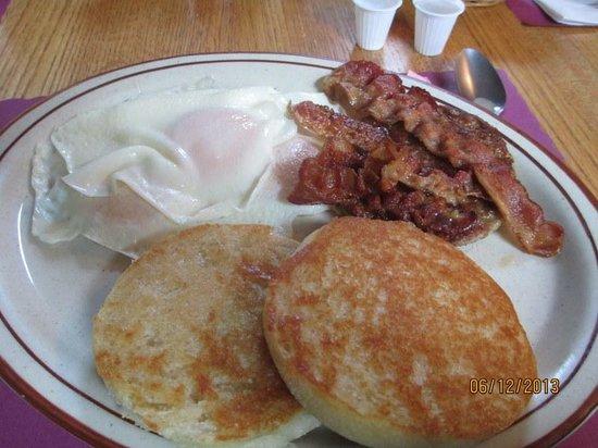 Calamity Jane's Restaurant: Loggers Breakfast