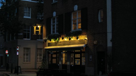 The Harrison Gastro Pub and Hotel: The Harrison on a lovely November evening in 2013.