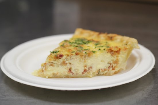 Eastwood Cafe: Homemade Quiche