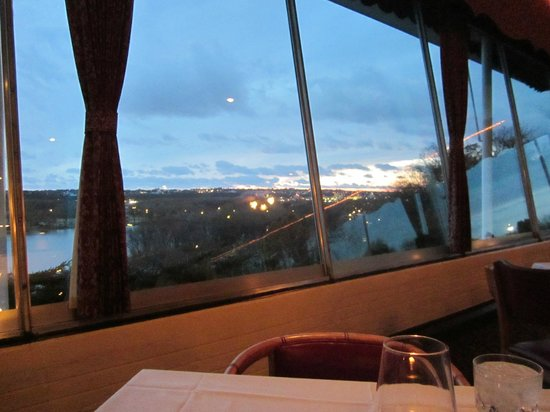 Timmerman's Supper Club: View from our table