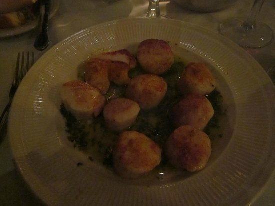 Timmerman's Supper Club: Huge scallops!