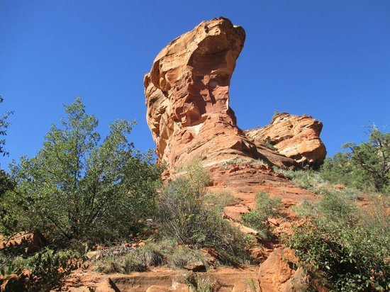 Fay Canyon Trail: Rock formations aplenty.