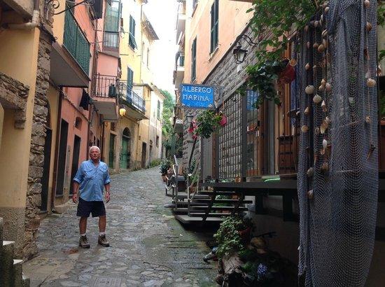 Albergo Marina : Entry to Hote Marina