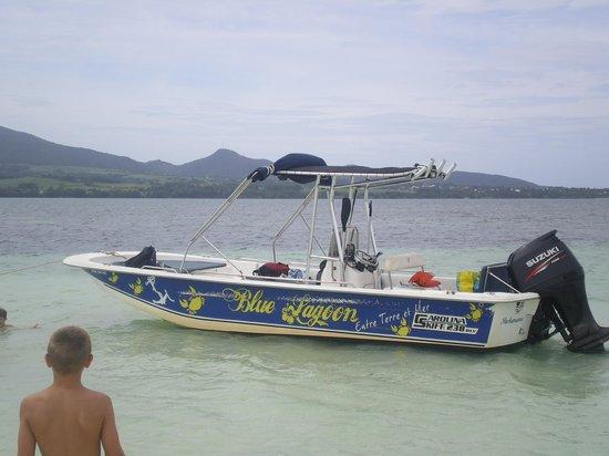 Sainte Rose, Guadeloupe: Le bateau