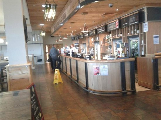 Craig Tara Holiday Park - Haven: The well stocked bar at Brigs of Ayr, at Craig Tara.